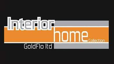 GoldFlo Interior Home Collection Logo