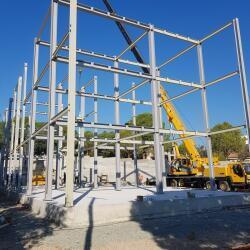 Steel Frame Private Residence In Erimi